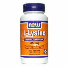 L-Lysine 500 мг 100 таблеток