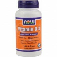 Vitamin D3 1000 ME 180 капcул
