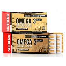 Omega 3 Plus Softgel Caps 120 капсул Nutrend