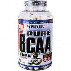 Pure BCAA 270 капсул Weider