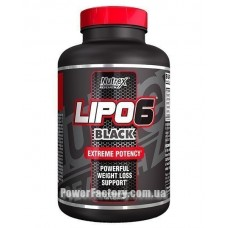 Lipo-6 Black Extreme Potency 120 капсул