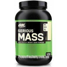 Serious Mass (No Sugar Added) 1360 грамм