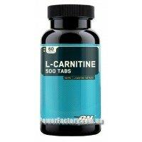 L-Carnitine 500 60 таблеток
