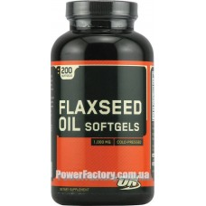 Flaxseed Oil Softgels 1000 мг 100 капсул