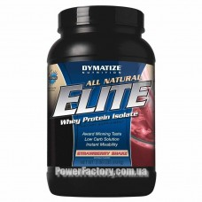 Dimatize Nutrition Elite Whey Natural 934 грамм