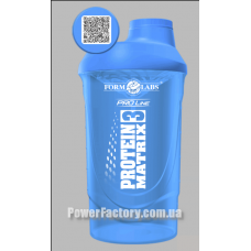 Шейкер Wave Protein Matrix Blue 700 мл