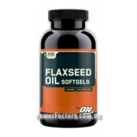 Flaxseed Oil Softgels 1000 мг 200 капсул