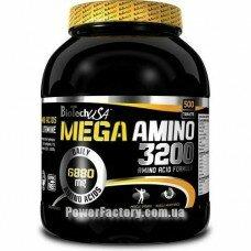 Mega Amino 3200 500 таблеток