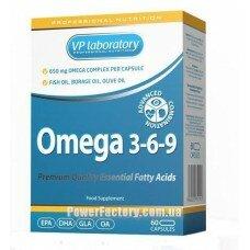 Omega 3-6-9 60 капсул