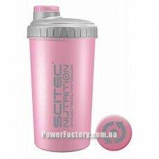 Шейкер Scitec 700 мл нежно розовый