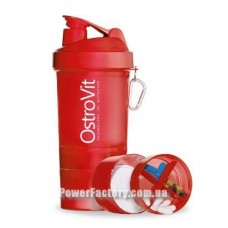 Smart Shaker 400 мл + 2* 120 мл (Red)