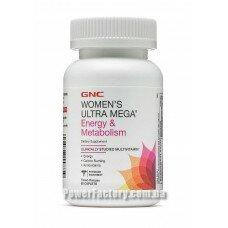 Womens Ultra Mega Energy & Metabolism 90 капсул