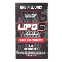 Lipo - 6 Black Ultra Concentrat 60 капсул