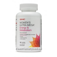 Womens Ultra Mega Energy & Metabolism 180 капсул