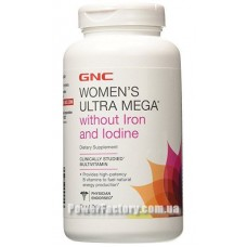 Womens Ultra Mega without Iron & Iodine 180 капсул