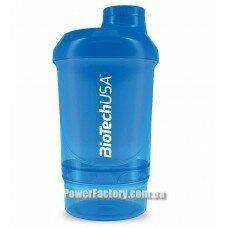 Шейкер Wave + Nano Shaker 300 мл ( + 150 мл ) Schocking Blue