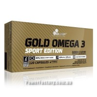 Gold Omega 3 Sport Edition 120 капсул