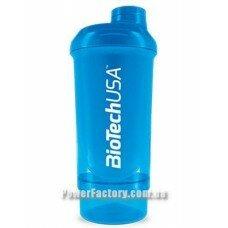 Шейкер Wave + Compact shaker 500 мл (+150 мл) Schocking Blue